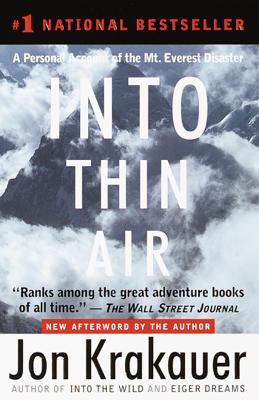 Into Thin Air - Jon Krakauer book