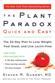 The Plant Paradox Quick and Easy Ebook Download