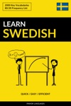 Learn Swedish Quick  Easy  Efficient 2000 Key Vocabularies