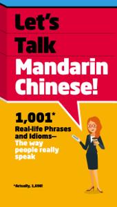 Let's Talk Mandarin Chinese La couverture du livre martien