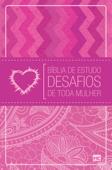 Bíblia de estudo Desafios de toda mulher - NVT Book Cover