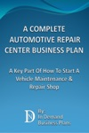 A Complete Automotive Repair Center Business Plan A Key Part Of How To Start A Vehicle Maintenance  Repair Shop
