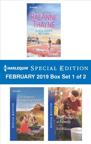 RaeAnne Thayne, Carrie Nichols & Teri Wilson - Harlequin Special Edition February 2019 - Box Set 1 of 2
