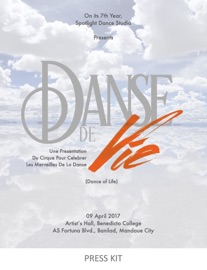 DANSE DE VIE - PRESS KIT