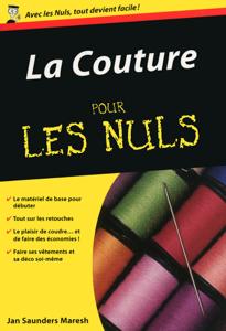La couture Pour les Nuls La couverture du livre martien