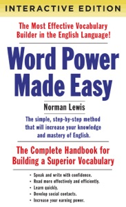 Word Power Made Easy (Interactive Edition) Book Cover