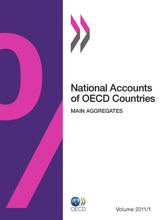 National Accounts Of OECD Countries, Volume 2011 Issue 1