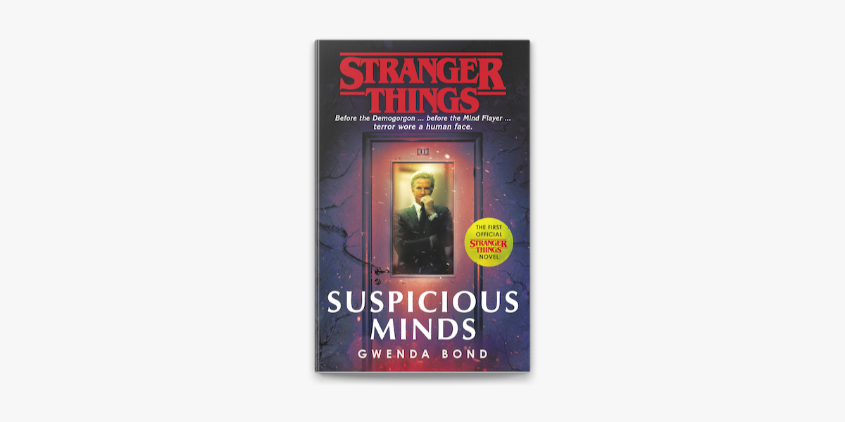 Stranger Things Suspicious Minds On Apple Books