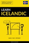 Learn Icelandic Quick  Easy  Efficient 2000 Key Vocabularies