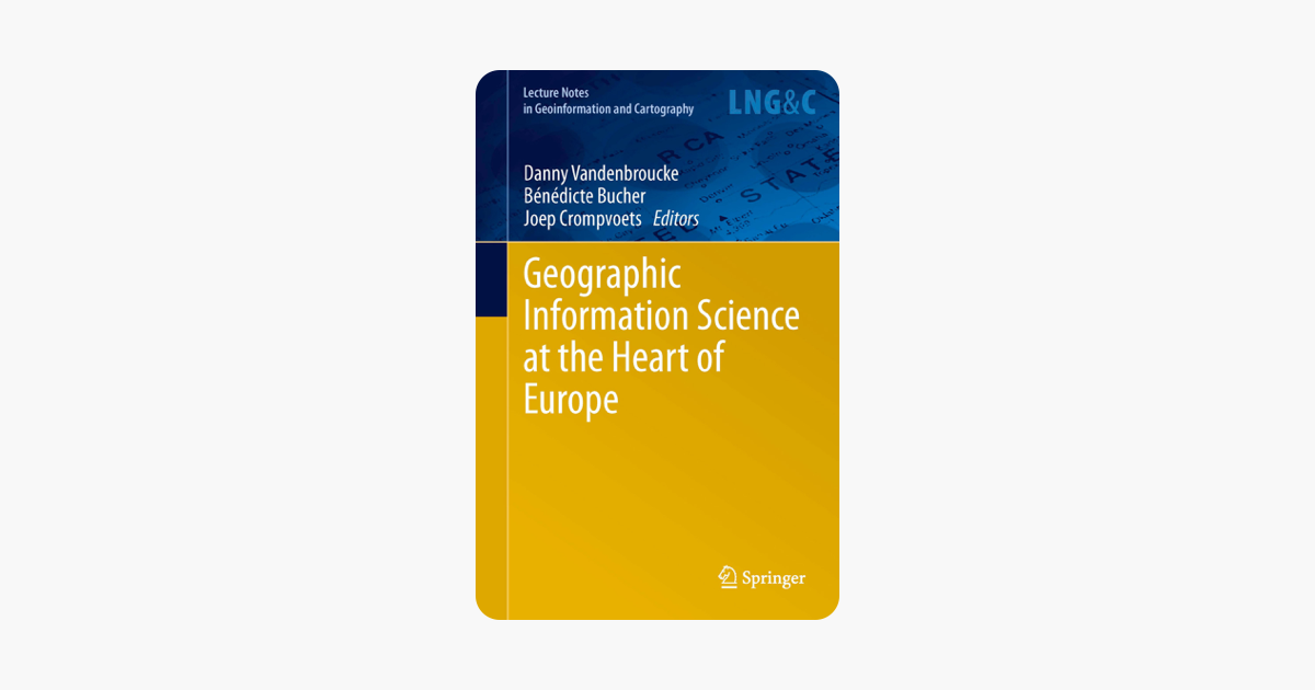 The 16th AGILE International Conference on Geographic Information Science