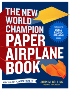 The New World Champion Paper Airplane Book Libro Cover