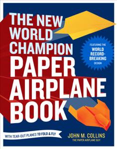 The New World Champion Paper Airplane Book Copertina del libro