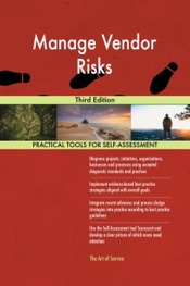 Download and Read Online Manage Vendor Risks Third Edition