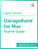 Apple Education - GarageBand for Mac Starter Guide artwork