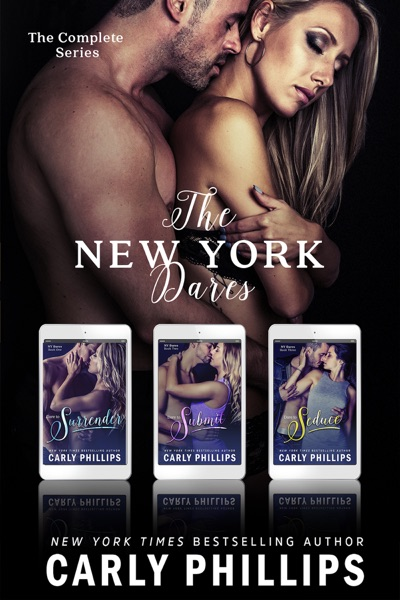 The New York Dares: The Entire NY Dare Series Set - Carly Phillips book cover
