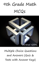 9th Grade Math Multiple Choice Questions And Answers (MCQs): Quizzes & Practice Tests With Answer Key (9th Grade Math Worksheets & Quick Study Guide)