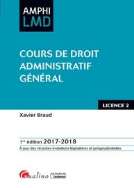 COURS DE DROIT ADMINISTRATIF GéNéRAL 2017-2018