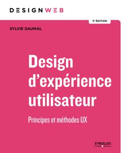 Design d'expérience utilisateur Couverture de livre