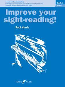 Improve Your Sight-Reading! Piano Grade 1 La couverture du livre martien