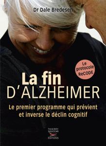 La fin d'Alzheimer La couverture du livre martien