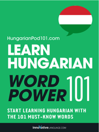 Learn Hungarian - Word Power 101 book