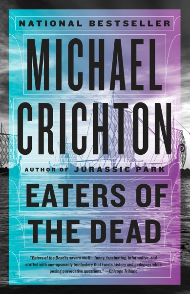 Eaters of the Dead - Michael Crichton book cover
