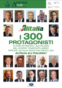 Alitalia - I 300 protagonisti Libro Cover
