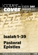 Cover to Cover Every Day: Isaiah 1-39 & Pastoral Epistles