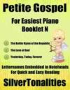 Petite Gospel For Easiest Piano Booklet N