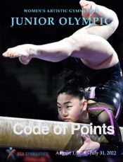 Women's Artistic Gymnastics Junior Olympic Code of Points (2018-2022)