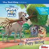 Puppy Dog Pals Read-Along Storybook Adventures In Puppy-Sitting