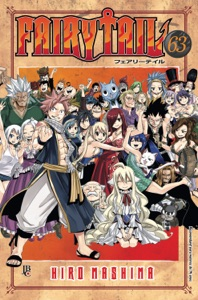 Fairy Tail vol. 63 Book Cover