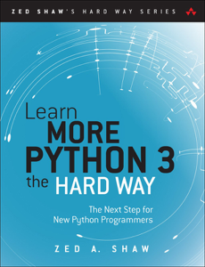 Learn More Python 3 the Hard Way: Buch-Cover