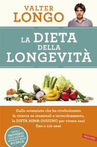 La dieta della longevità Libro Cover