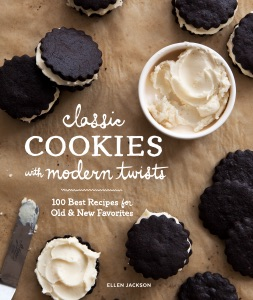 Classic Cookies with Modern Twists by Ellen Jackson Book Cover