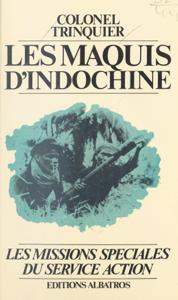 Les maquis d'Indochine, 1952-1954 La couverture du livre martien