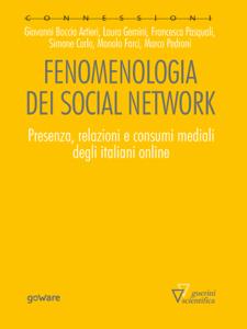Fenomenologia dei social network Copertina del libro