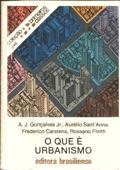 O que é urbanismo Book Cover