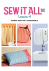 Sew It All Lesson 1