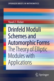 DRINFELD MODULI SCHEMES AND AUTOMORPHIC FORMS