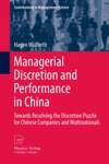 Managerial Discretion And Performance In China