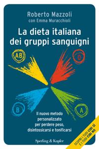 La dieta italiana dei gruppi sanguigni Copertina del libro