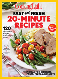 COOKING LIGHT Fast & Fresh 20 Minute Recipes book