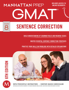GMAT Sentence Correction Buch-Cover