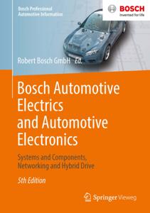 Bosch Automotive Electrics and Automotive Electronics Copertina del libro