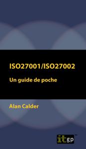 ISO27001/ISO27002: Un guide de poche La couverture du livre martien