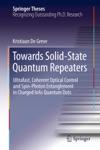 Towards Solid-State Quantum Repeaters
