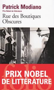 Rue des Boutiques Obscures La couverture du livre martien