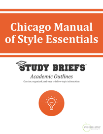 Chicago Manual of Style Essentials book