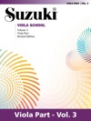 Suzuki Viola School - Volume 3 Revised